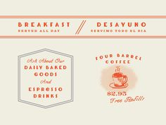 Coffee Shop Graphic Elements