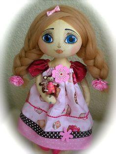 Коллекционные куклы ручной работы. Ярмарка Мастеров - ручная работа Настёна -сластёна. Handmade.