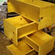 How-To: Building Top Bar Bee Hives by Jeremy Marr on Tanglewood Hollow