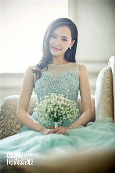 Tang Yan is a bride for Cosmopolitan | Cfensi #Tangyan
