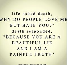 Beautiful lie / Painful truth