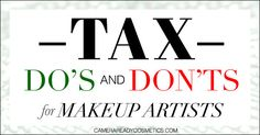 """You've worked hard all year and created a solid portfolio and actually made money!, now it's time to file your taxes. Learn tax do's and don'ts to avoid a tax nightmare!    Written by: Mary Erickson, Founder & Owner, Camera Ready Cosmetics   So you say """"I've never been audited,"""" and """"I'm a small fry, they don't care about me,"""" and of course,""""I keep all my receipts so I'm good."""" I hear this a lot from my freelance friends that have never been through an audit. M..."""