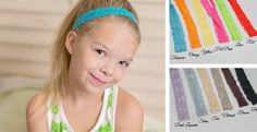 23 Colors - Naked LACE Headbands - Simple & Stunning   Jane