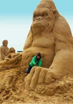 Statue di sabbia