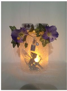 MANY PEOPLE HAVE INQUIRED ABOUT PURCHASING MY LANTERNS IN BULK AND THE ANSWER IS YES. I DO GIVE A DISCOUNT ON MULTIPLE LANTERNS. I CAN MAKE ANY COLOR, FAIRY or PRINCESS AND I CAN ALSO ADD HER PRINCE.   Welcome to my Etsy Store! This is a wonderful little faerie lantern I created from my childhood memories. I have been crafting for years and am finally opening a shop. I just love to add little details to my crafts to make them unique!  My lanterns are all similar in design, yet each one…