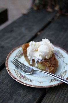 the best apple pie I have ever tasted!