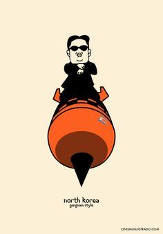 El espíritu de los cínicos: Kim Jong-Un Gangnam Style