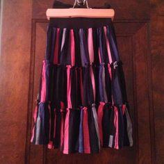 French connection midi skirt. Bold colored midi skirt with a thick waist band. French Connection Skirts Midi