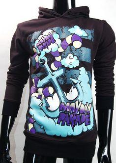 Mayday Parade Hoodie Sweatshirts Jumper Jacket S, M, L on Etsy, $35.99. I need this.