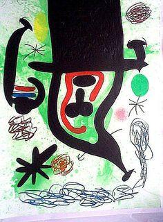 Miro paintings -