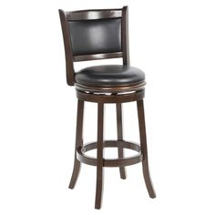 """Found it at Wayfair - Augusta 29"""" Barstool in Cappuccinohttp://www.wayfair.com/daily-sales/p/Meet-Your-Seat%3A-Bar-Stools-in-Every-Style-Augusta-29%22-Barstool-in-Cappuccino~JIY6859~E13800.html?refid=SBP.rBAZEVQbQQoI0yuNDY1TAjpoWj4V_kMvghs2Ph2lDs0"""