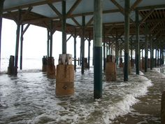 Under the Pier, Galveston Texas