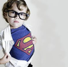 Cute Little Superman! :-)