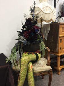 Halloween 2020 Rental Beetlejuice Magician Assistant Planter | Gory Girl | Halloween