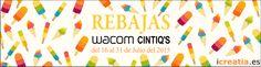 Rebajas icreatia.es en todos los modelos Wacom Cintiq.  Del 16 al 31 de Julio 2015  ;)