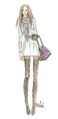 fashion illustrations,fashion sketch, art,drawing,model,girl,street style