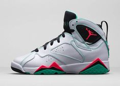 Authentic Cheap Air Jordan 7 New green red white shoe woAuthentic Cheap Air Jordan retro 7 vii shoe for sale Blue Jordans, New Jordans Shoes, Air Jordans, Jordan 7 Shoes, Michael Jordan Shoes, Jordan Sneakers, Nike Factory Outlet, Nike Outlet, Tn Nike