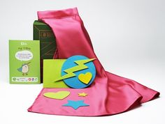 $12 Cape party pack: includes materials and instructions to customize cape! (Perfect for a superhero, wizard, or detective birthday party)