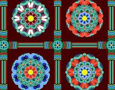 Korean Traditional Pattern Design [단청] on Behance Korean Traditional, Traditional Art, Korean Colors, Chinese Element, Korean Painting, Korean Design, Chinese Patterns, Tibetan Art, 3d Quilling