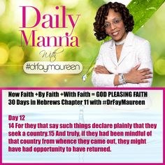 DM# 226 30 Days in Hebrews Chapter 11 with Day 12