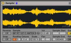 """Tout savoir sur Sampler en moins de 12 minutes Ableton Live offre deux échantillonneurs bien distinct : le simpler et le sampler. Dans bien des cas, le Simpler est tout ce dont vous aurez besoin, mais si vous désirez effectuer du """"multisampling"""" par exemple, il vous faudra"""