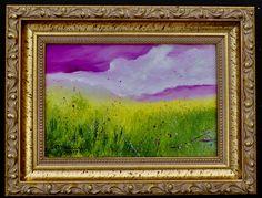 Magic Clouds, Handmade original oil painting on masonite panel. Minimalist Painting, Clouds, Magic, Paintings, Oil, Fine Art, Frame, Handmade, Home Decor