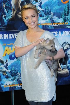 Short Hairstyles Lookbook: Hayden Panettiere wearing Short Wavy Cut (8 of 17). Hayden showed off her sleek wavy cut, while attending the screening of 'Alpha and Omega'.