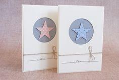 Heute habe ich zwei Glückwunschskarten zur Geburt für euch. Es gleicht ja immer einem Wunder, wenn ein neuer Erdenbürger das Licht der Welt...