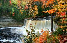 Tahaquamenon  Water falls, Michigan