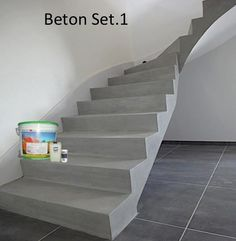 beton treppe home one day pinterest. Black Bedroom Furniture Sets. Home Design Ideas