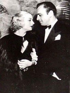 Carole Lombard and Russ Columbo