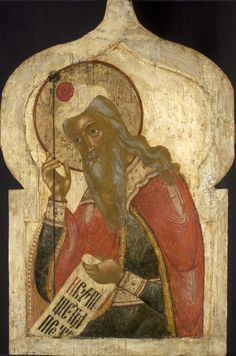 Antique Russian Icon Prophet Aaron | Russian Icons Amsterdam