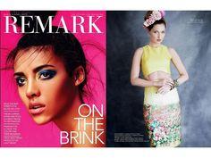 Rachel Sin Stephano Floral Print Dress Remark Magazine.