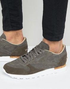 Reebok Classic Leather LST Trainers In Grey BD1903 d6c8ee27b