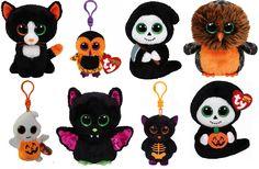 Ty's new 2015 Halloween Beanie Boo and Halloweenie Beanie range looks awesome! Ty Beanie Boos, Beanie Babies, Halloween Beanie Boos, Peluche Lion, Ty Plush, Pillow Pals, Halloween 2015, Baby Online, 18 Inch Doll
