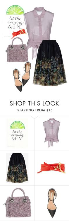 """""""bag"""" by masayuki4499 ❤ liked on Polyvore featuring Alberta Ferretti, Ted Baker, Tory Burch, LIU•JO and Topshop"""