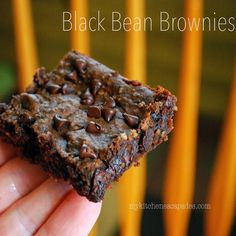 Recipe For Decadent Black Bean Brownies - HOLY COW!  These were amazing and I was nothing but furious with myself for not trying them ages ago when I first found the recipe.  Fudgy, moist and oh, so chocolatey.  Exactly what I needed but in a much healthier form than normal.