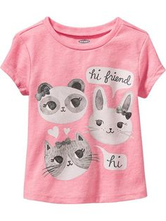 Old Navy Graphic Tees for Baby Size 12-18 M