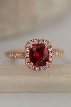 21 Precision Cut Sapphires And Gemstones By Rogerio Graca ❤️ Precision cut sapphires and gemstones by Rogerio Graca Red Spinelor Ruby Rose Gold Ring ❤️ See more: http://www.weddingforward.com/precision-cut-sapphires-and-gemstones-by-rogerio-graca/ #weddingforward #wedding #bride #engagementrings  #PrecisionCutSapphiresAndGemstonesByRogerioGraca