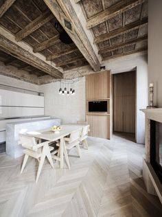 Photo 2 of 6 in Apartmento RJ by Archiplan Studio Studio Kitchen, Kitchen Design, Space Kitchen, Apartment Interior, Kitchen Interior, New Furniture, Furniture Design, Best Interior, Interior Design
