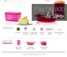 Pay helado de limón #Tupperware