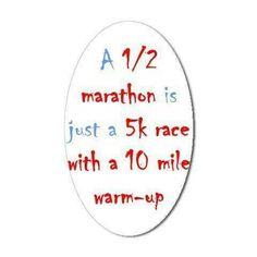 Half marathon...catching the running bug again