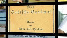 """Der Verlag (11): Der damalige Werbetrailer für das #Hörbuch """"Das indische Grabmal""""."""