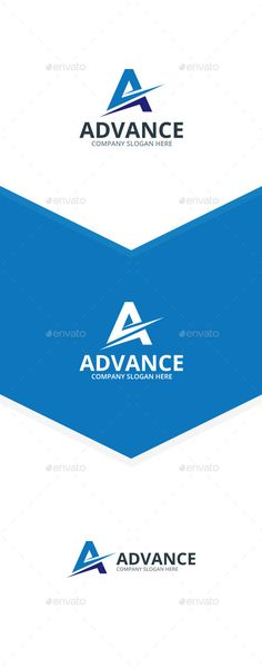 Advance A Letter - Logo Design Template Vector #logotype Download it here: http://graphicriver.net/item/advance-a-letter-logo/9858085?s_rank=165?ref=nexion