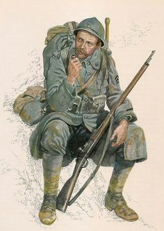 French soldier, 1916