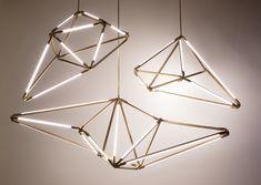 - pendants for the century: artisanal lighting by Bec Brittain ~ the modern sybarite - advice on interiors, art and design Cool Lighting, Modern Lighting, Pendant Lighting, Lighting Concepts, Lighting Design, Light Art, Lamp Light, Light Fittings, Light Fixtures