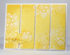 gorgeous yellow and white by Heather Telford   Lemon and Lace