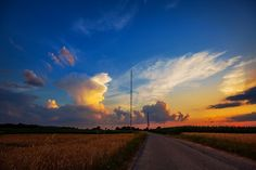 Sender Mühlacker Sonnenuntergang. | Flickr - Photo Sharing!