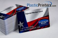 This business card is printed on white stock and has one of our popular options #embossing.  Embossing is especially nice in adding value to your business cards and membership cards giving them a credit card feel.