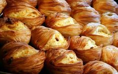 Pastizzi, flaky, stuffed pastries from Malta. My favorite is the Pastizzi tal-Pizelli, which has a spicy pea filling!